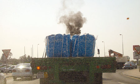 """pollution in bahrain  day on june 5 under the theme """"beat plastic pollution"""" in cooperation with  retail pioneer majid al futtaim group in city center bahrain mall."""