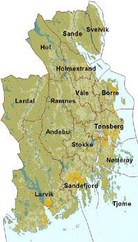 kart over vestfold Miljølære i Vestfold kart over vestfold